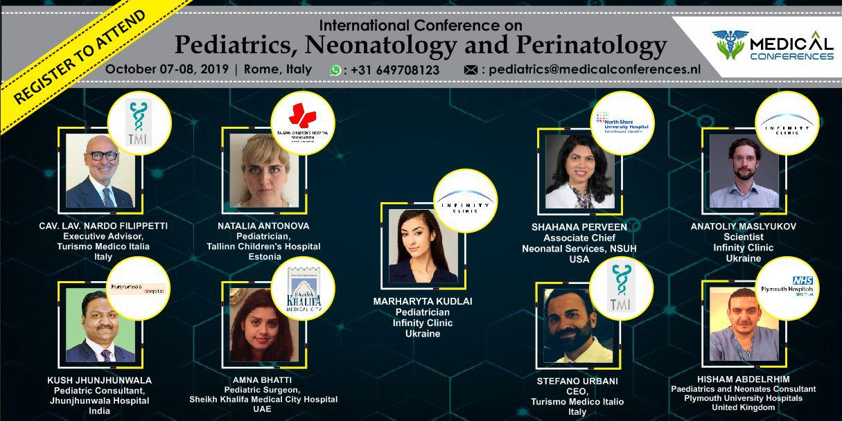Infinity clinic will participate in the international conference on pediatrics